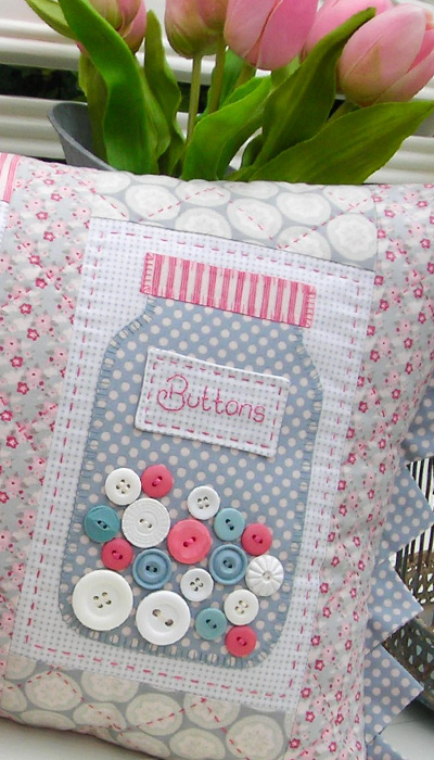 Buttons by Sally Giblin